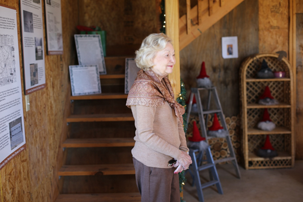 Mary Orbeck opens CP Farm.